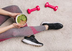 bikini competitor diet